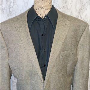 Chaps   Blazer Jacket Size 46L Tan